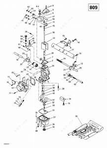 Ski Doo 2000 Grand Touring - Se Millennium Edition  Carburetor  809