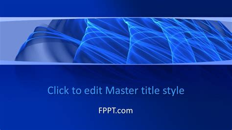 Free Lines PowerPoint Template - Free PowerPoint Templates
