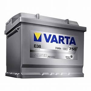 Batterie 74 Ah : batterie varta e38 silver dynamic 74 ah 750 a ~ Jslefanu.com Haus und Dekorationen