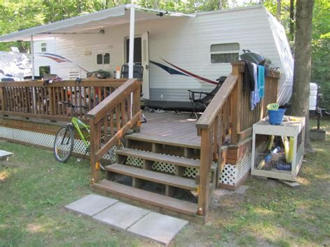 1000 images about travel trailer porches on