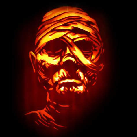 mummy pumpkin carving 20 most scary halloween pumpkin carving ideas designs for 2016
