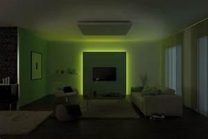 Corniche Eclairage Indirect : kit bandeau led maxled rgb corniche clairage indirect ~ Melissatoandfro.com Idées de Décoration