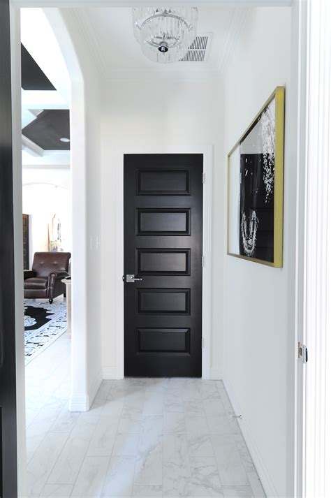 door drama  reasons   black interior doors