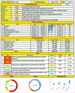 6 Project Status Report Template Excel Download Filetype Xls - Exceltemplates