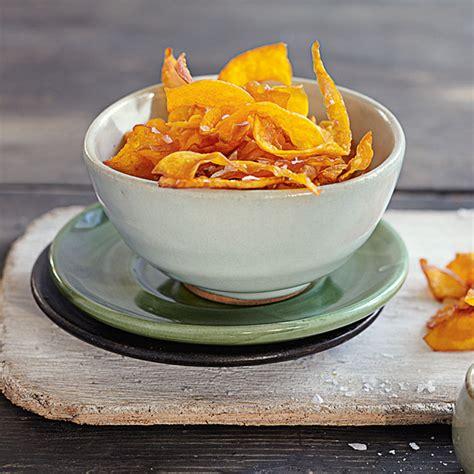 kuerbis chips rezept kuechengoetter