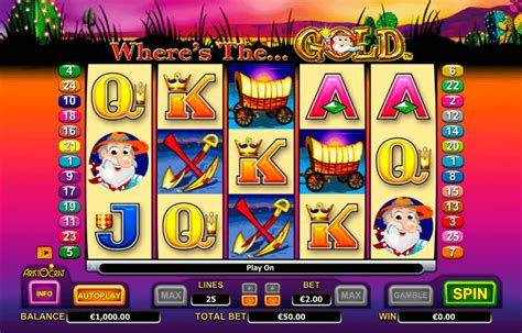 Play Wheres The Gold Free Slot