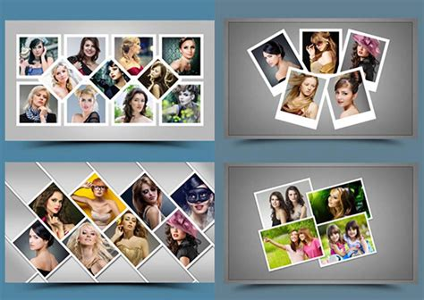 4 Picture Collage Template by 30 Best Photoshop Collage Templates