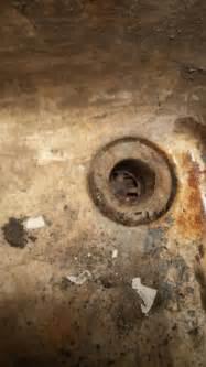ancient concrete laundry sink  basement doityourself