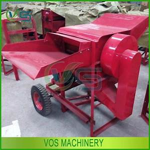 Diesel Engine Drive Wheat And Rice Thresher Machine Farm