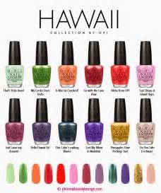 OPI Nail Polish Colors Spring 2015
