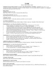 fillable resume template free high school resume template forms fillable printable sles for pdf word pdffiller