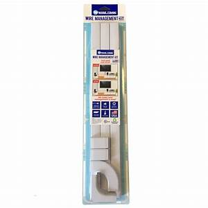 Wire Trak Wire Management Kit - Walmart Com