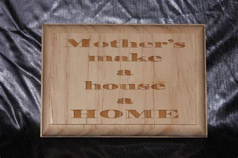 small wooden plaque mother s colac gifts and engraving