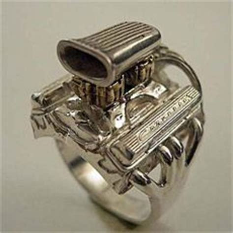jewelry  gearheads engines pinterest rings