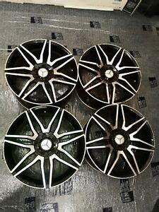 We are open for business as normal. SET OF 4X BLACK EDITION ALLOY RIMS 19 INCH MERCEDES E-CLASS AMG W211 W212 W213   eBay