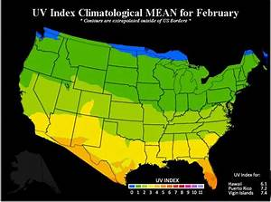 Sun Safety Monthly Average Uv Index Sun Safety Us Epa