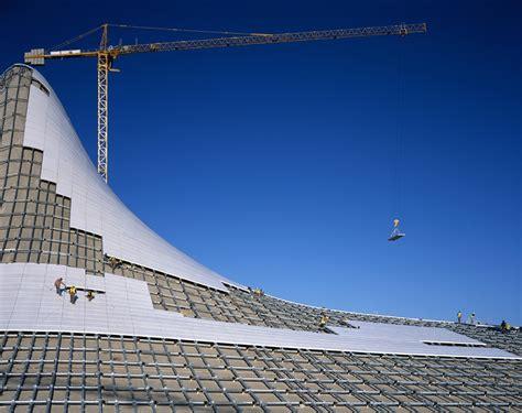 structure design  heydar aliyev center zaha hadid