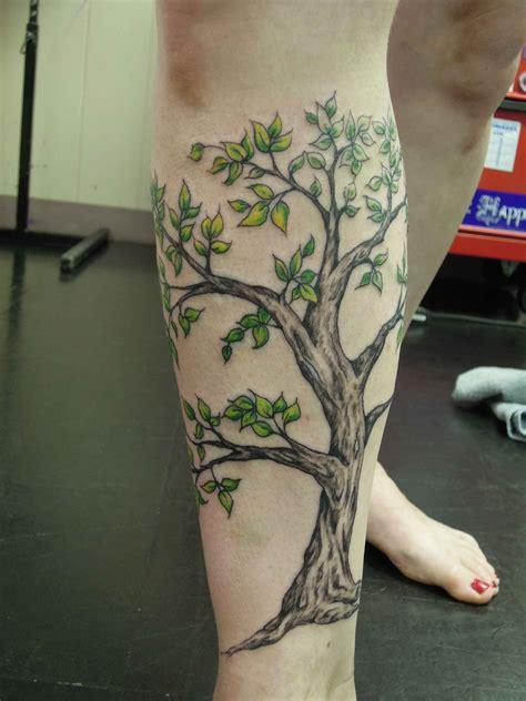 tree tattoos   leg leg tree tattoo design tattoos