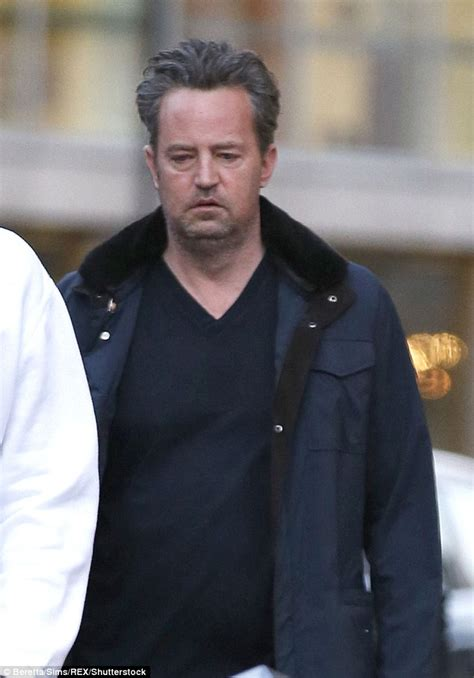 Matthew Perry looks tired following work-out with personal ...