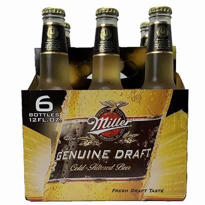 Draft Miller Genuine Bottles Pack