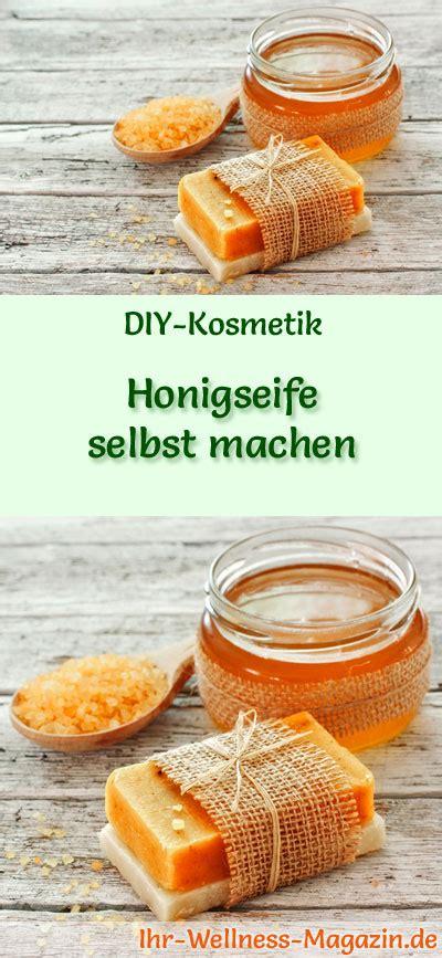 Honigseife Selbst Machen  Seifenrezept & Anleitung