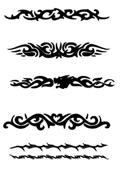 Tribal Armband Tattoos Designs For Guys