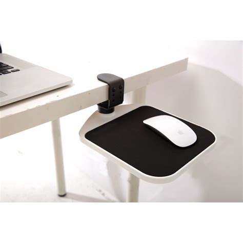 keyboard attachment for desk cl on mouse platform to hide under desk swivel mouse