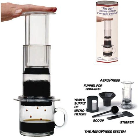 Aerobie AeroPress Coffee & Espresso Maker Made in the USA   KnifeCenter   80R11