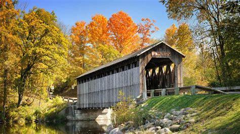 Fallasburg Covered Bridge, Pioneer Village & School | Michigan