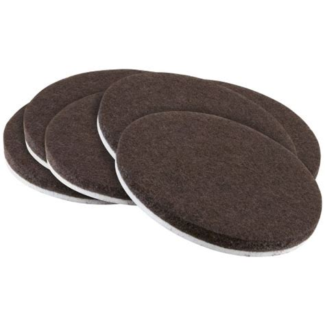 self stick 2 quot heavy duty furniture felt pads for