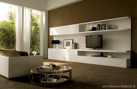 composizioni soggiorni moderni le composizioni proposte nelle finiture laccato bianco e o