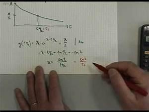 Hier Kann Man Geschlecht Berechnen : exponentialfunktion mit halbwertszeit youtube ~ Themetempest.com Abrechnung
