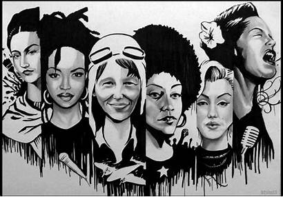 Month Herstory History Womens Woman March Justice
