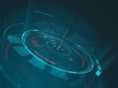 Technology Space Platform Cool Futuristic Interface Dribbble
