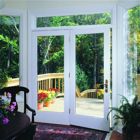 pella  series center hinged patio door pella
