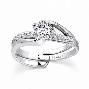 new popular wedding rings With interlocking engagement ring wedding band