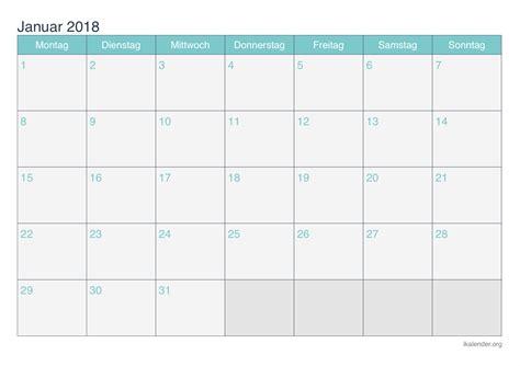kalender januar zum ausdrucken ikalenderorg