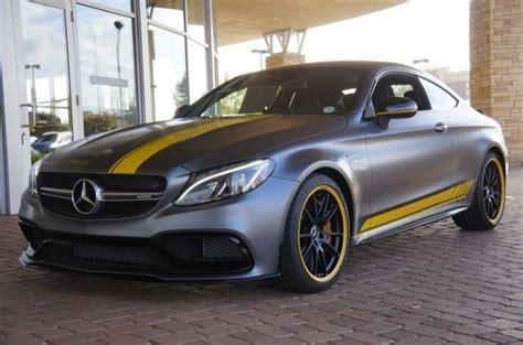 2 door automatic petrol coupe. 2017 Mercedes-AMG C63 S Coupé Edition 1   German Cars For Sale Blog