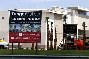 TANGER TIME: Outlet mall nears completion; job fair ...