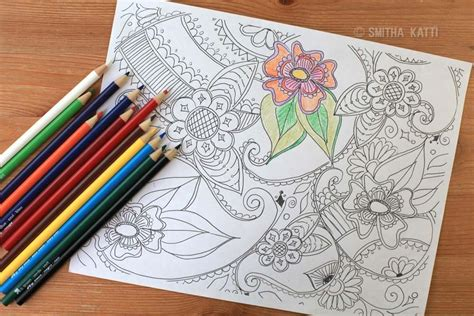 free paisley adult coloring page indie crafts