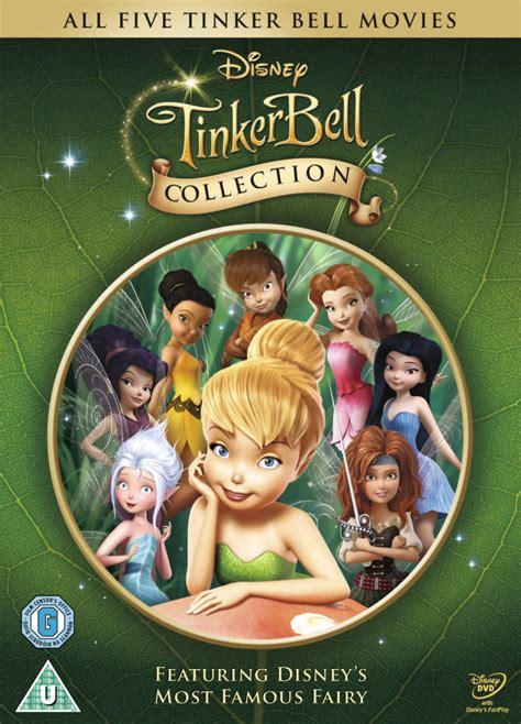 tinker bell collection dvd zavvi