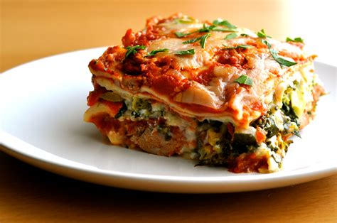 vegetarian lasagna roasted vegetable lasagna hungry eyes