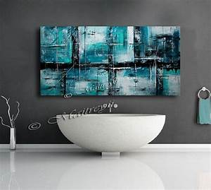 Best teal canvas art ideas on gold