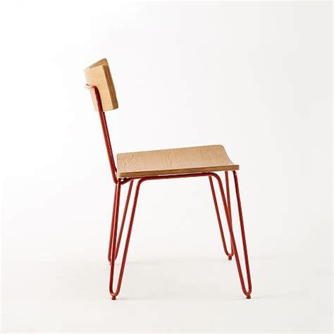 hairpin leg dining chair west elm