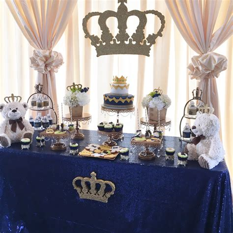 blue living room chairs a royal prince or king themed baby shower
