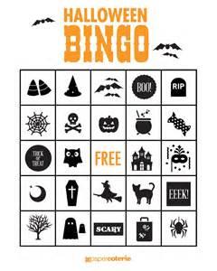 Printable Halloween Bingo Game