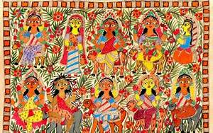 Traditional Indian art, Traditional indian paintings