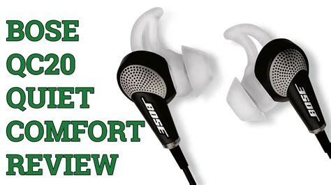bose quietcomfort  qc headphones review youtube