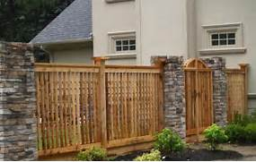 Fence Design Fences Designs This Beautiful Fence Design Uses St Modern Fence Designs For Your Modern Home Front Fence Ideas On Pinterest Picket Fences Wire Fence And Fencing Lattice Fence Design Ideas LZK Gallery