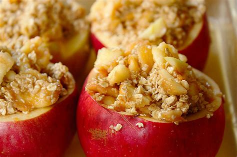 stuffed apples recipe stuffed baked apples and apple crisp